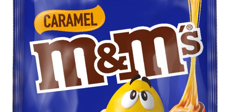 Launching in Australia at last – Caramel M&M's
