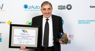 winner of VACC award