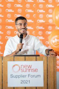 New Sunrise National Merchandise Manager Joseph Alessi.New Sunrise National Merchandise Manager Joseph Alessi.