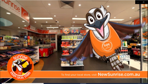 New Sunrise Enjoy Local stores.